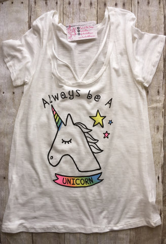 Always Be A Unicorn Tee