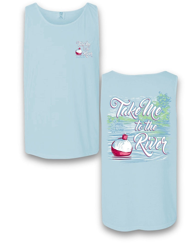 """Take Me to The River"" Comfort Colors Tank"