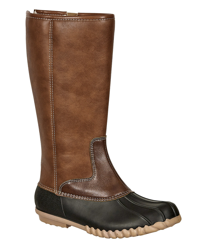 Autumn Mid Calf Duck Boots