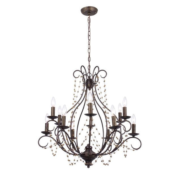 Angelina Bronze Chandelier