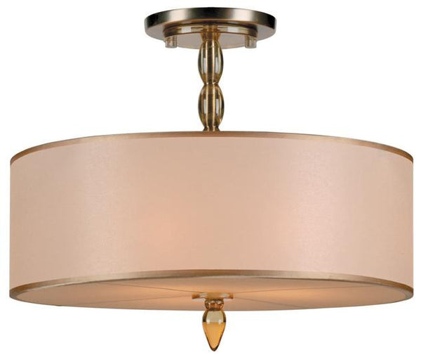Luxo Drum Shade Chandelier