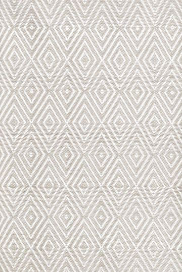 Diamond Platinum/White Indoor/Outdoor Rug