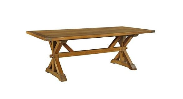 7' Trestle Dining Table