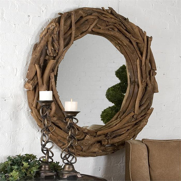 Teak Root, Large Mirror