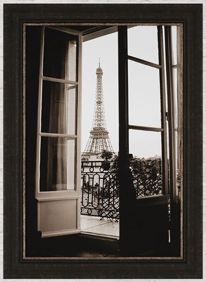 Through French Doors