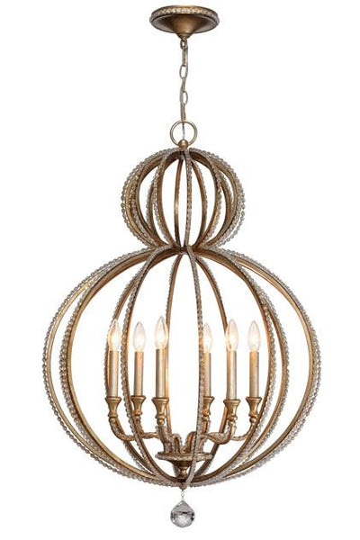 Garland Crystal Beads Chandelier