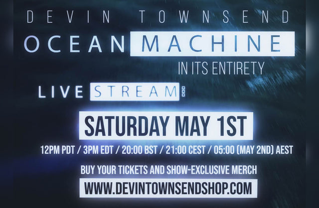 Ocean Machine - Live Stream Ticket