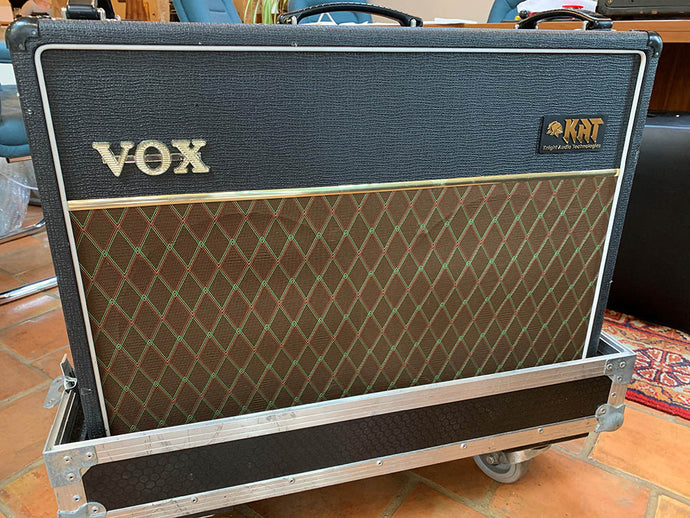 Jon Underhill's AC30 Modifications
