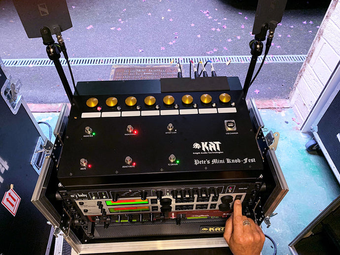 Brian May's Guesting and Back-up Mini-Rig