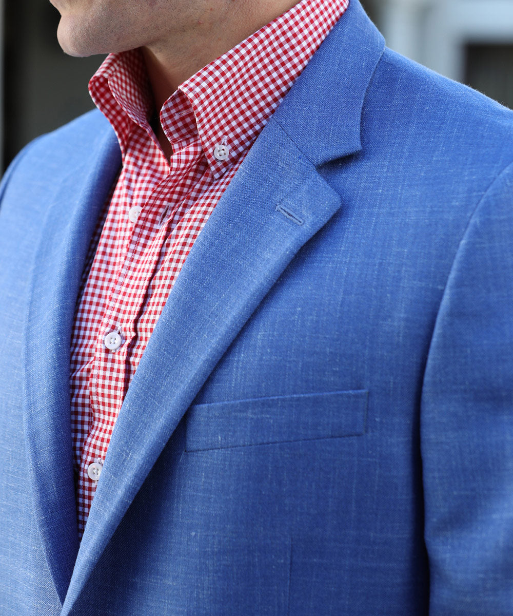 Signature Textured Weave Superfine Wool Sport Coat