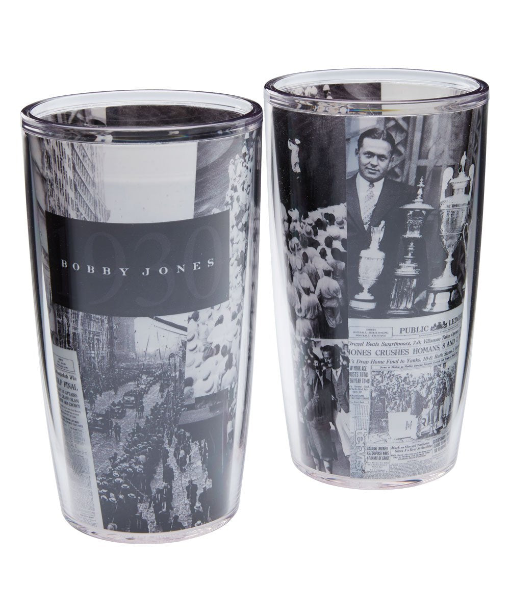 Tervis 16 oz 2 Pack Bobby Jones 1930 Wrap Tumblers
