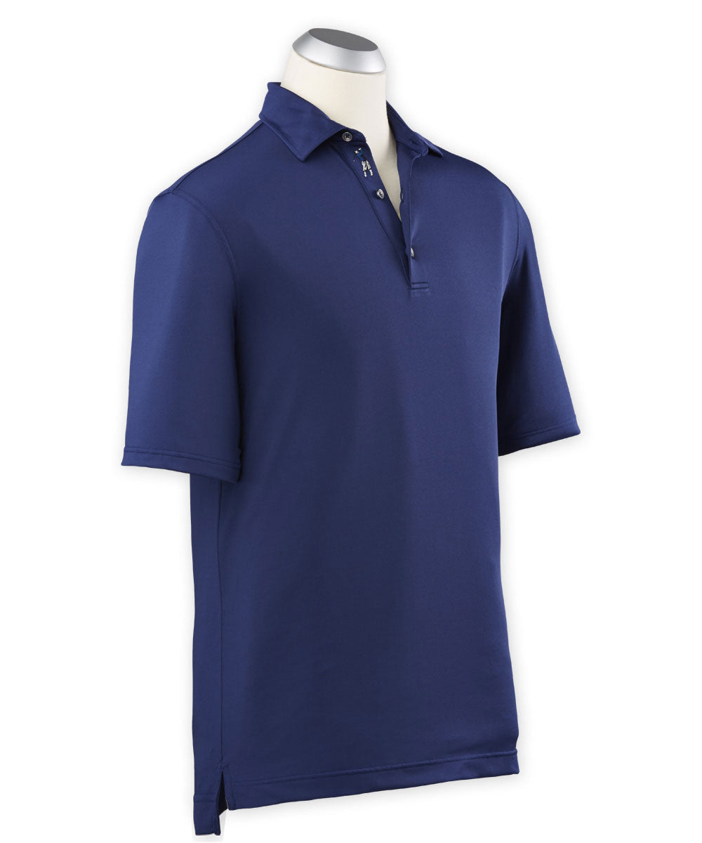 Performance Solid Jersey Short Sleeve Polo Shirt