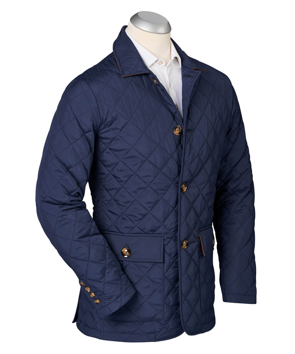 Hyland Water-Repellent Quilted Jacket