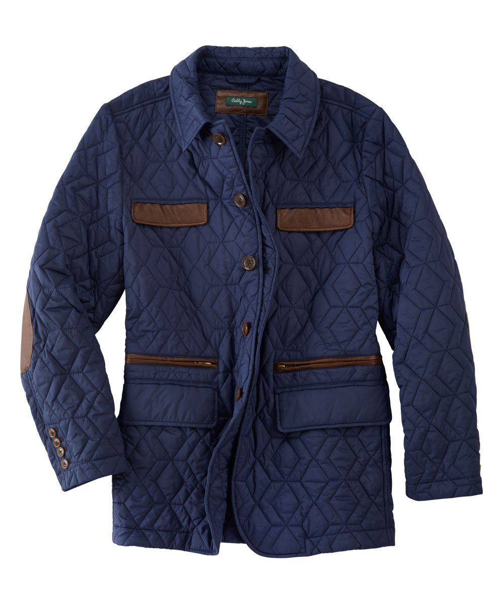 Wesley Water-Resistant Quilted Jacket