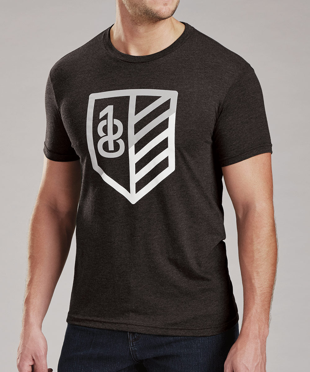 Rule 18 Shield Tri-Blend Short Sleeve Tee Shirt