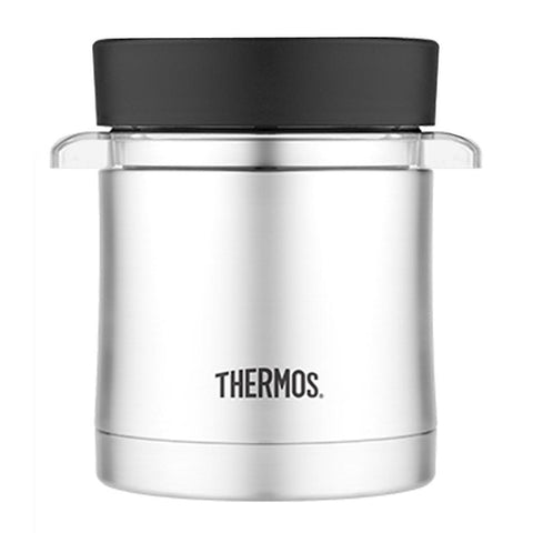 12 oz Thermos Vacuum Stainless Steel w/Microwavable Container