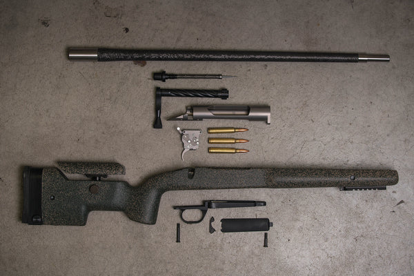 MCM Firearms Precision Rifles - disassembled