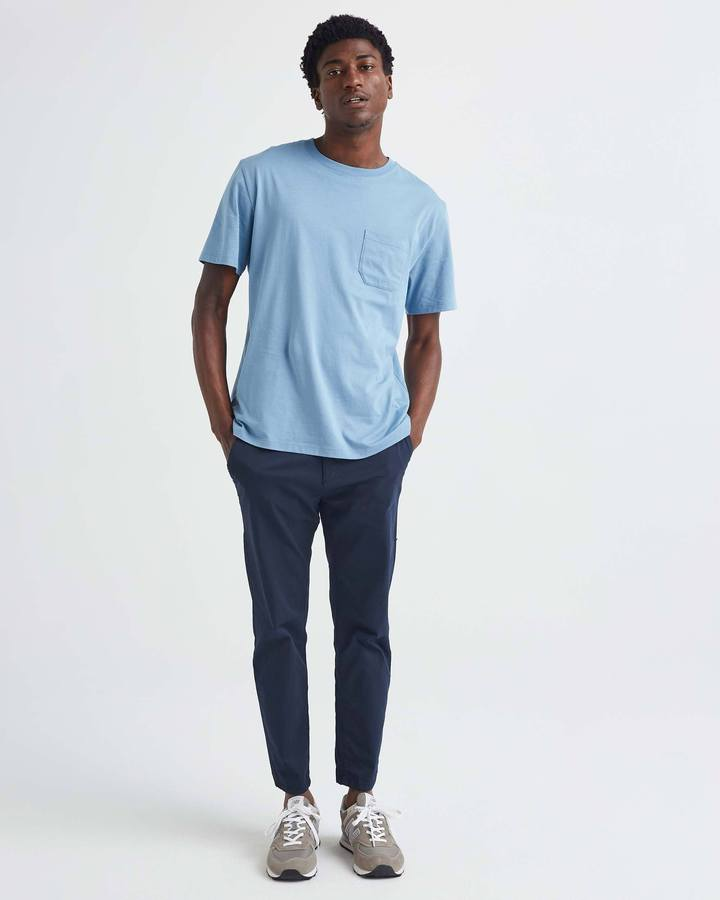Richer Poorer S/S Pocket Tee Blue Heaven - Legitkicks.ca