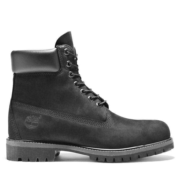 Timberland Men's 6-Inch Premium Waterproof Boots Black - Legitkicks.ca