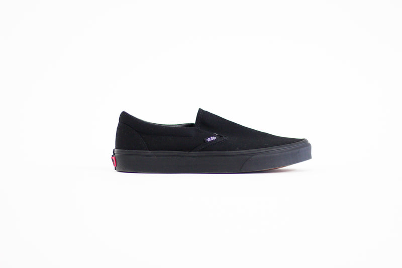 Vans Black Slip On Shoes - Legitkicks.ca