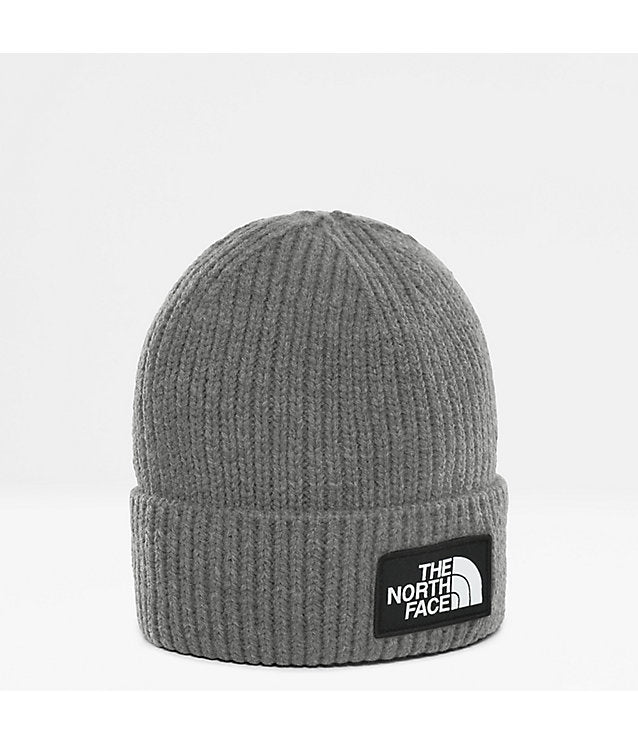 The North Face Ribbed Cuffed Beanie Grey