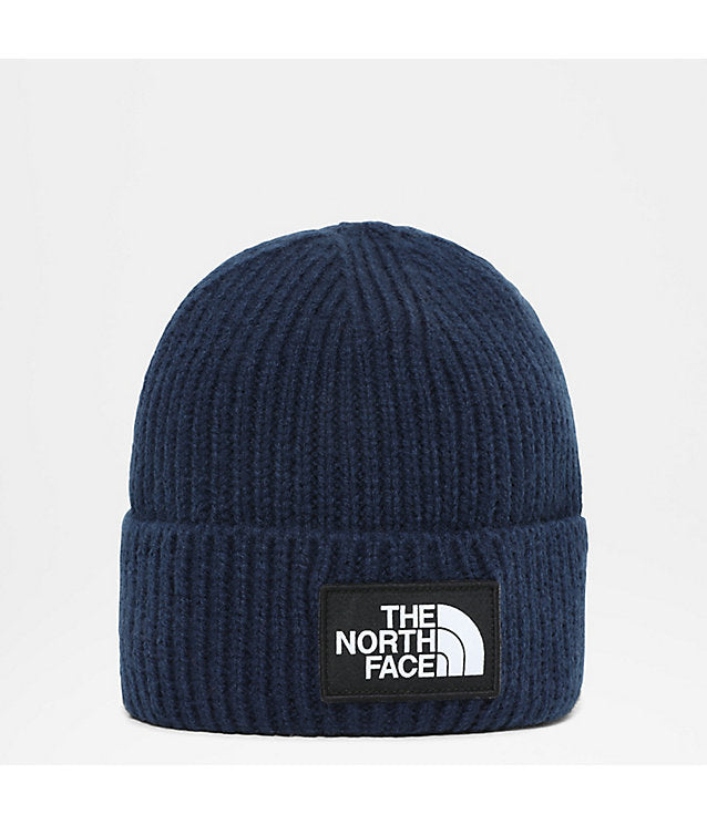 The North Face Ribbed Cuffed Beanie Navy