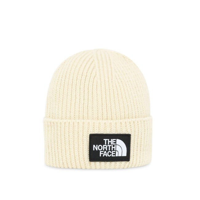 The North Face Ribbed Cuffed Beanie Sand Bleached