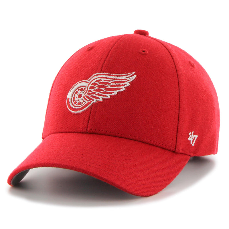 47 Brand Detroit Red Wings MVP Hat Red - Legitkicks.ca