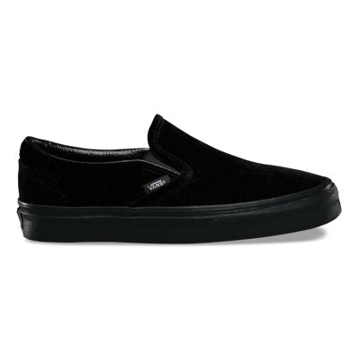 Vans Black Slip On Shoes