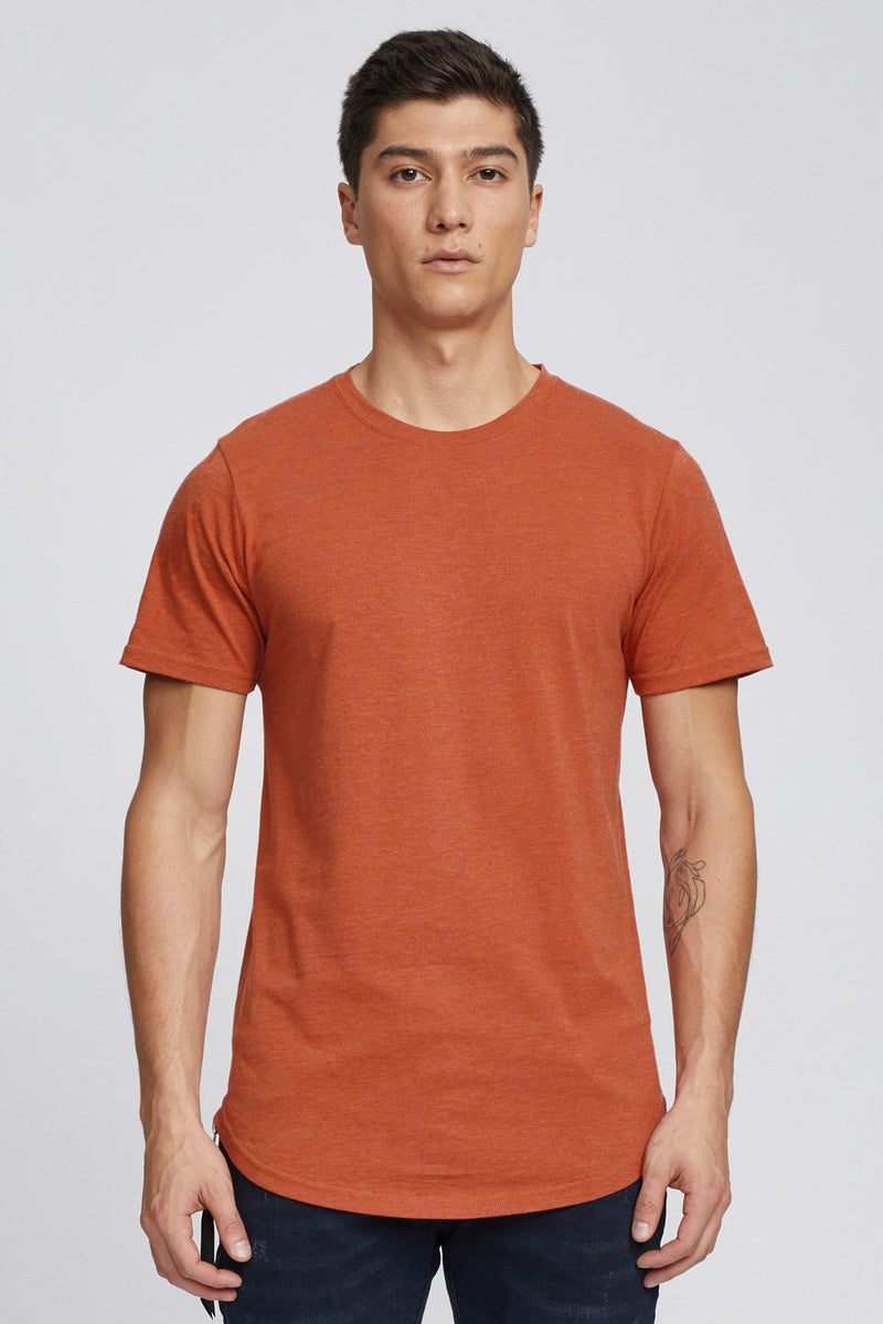 Kuwallatee Scoop Tee Brick Red - Legitkicks.ca