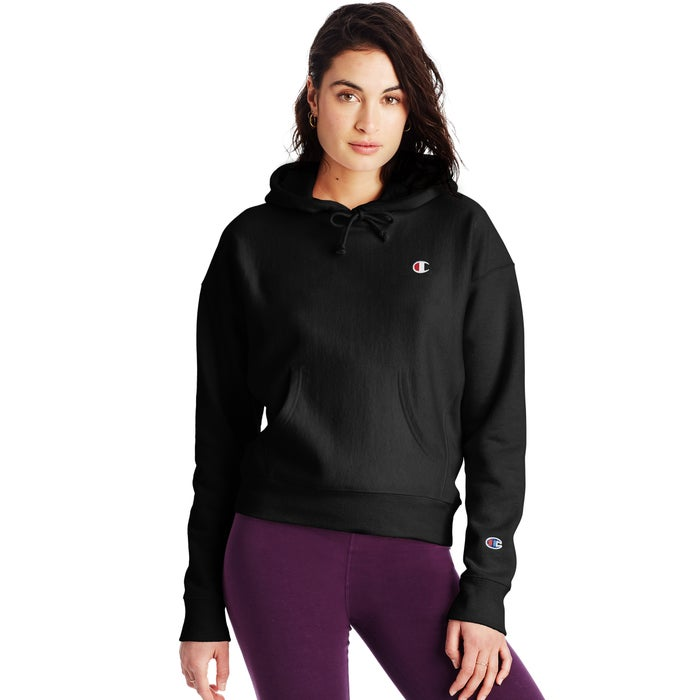 Champion Women Hoodie Black - Legitkicks.ca