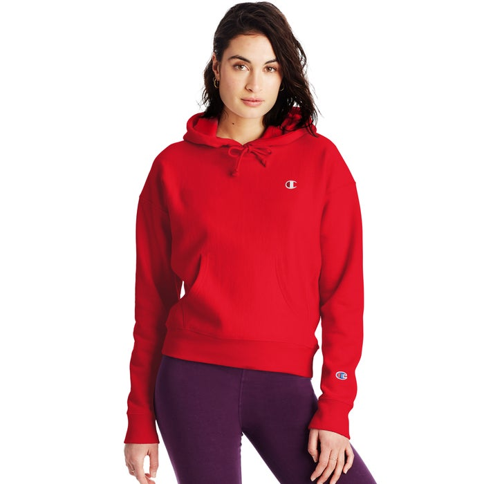 Champion Women Hoodie Red RW