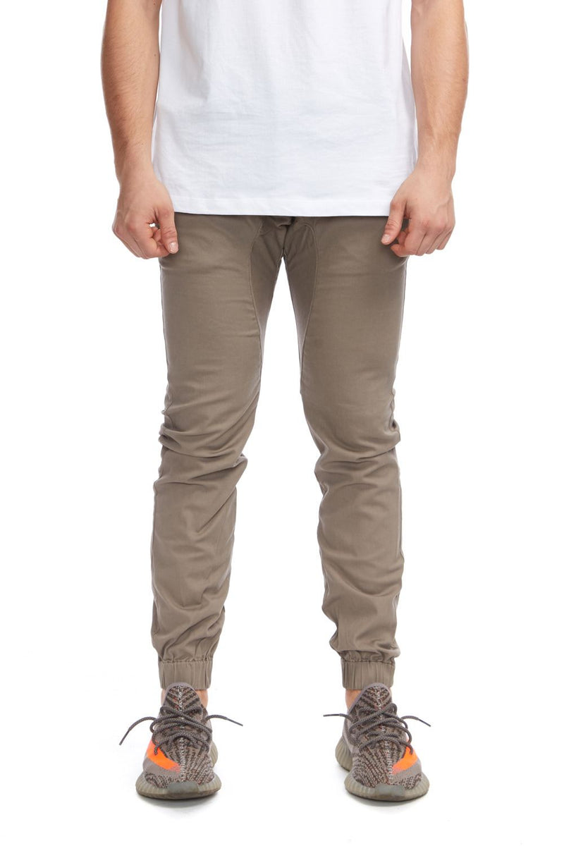 Men Chino Jogger Pants