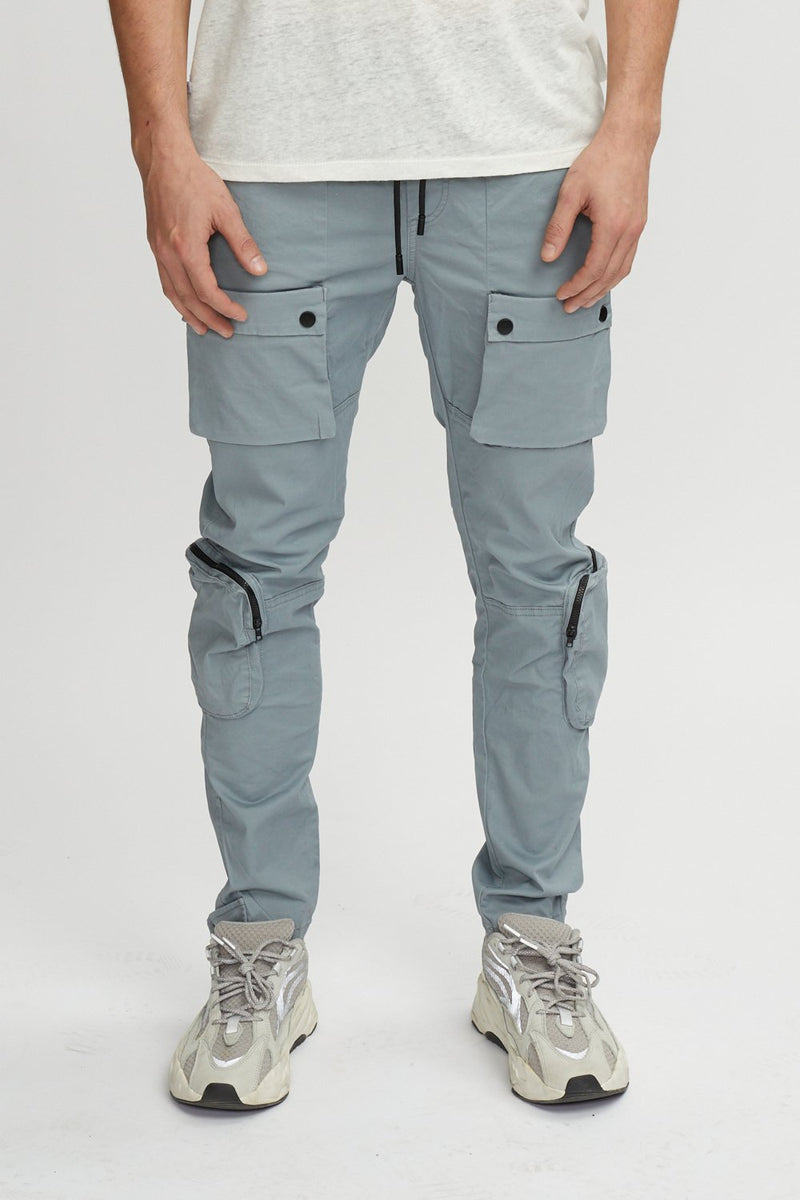 Kuwallatee Utility Pants Light Grey