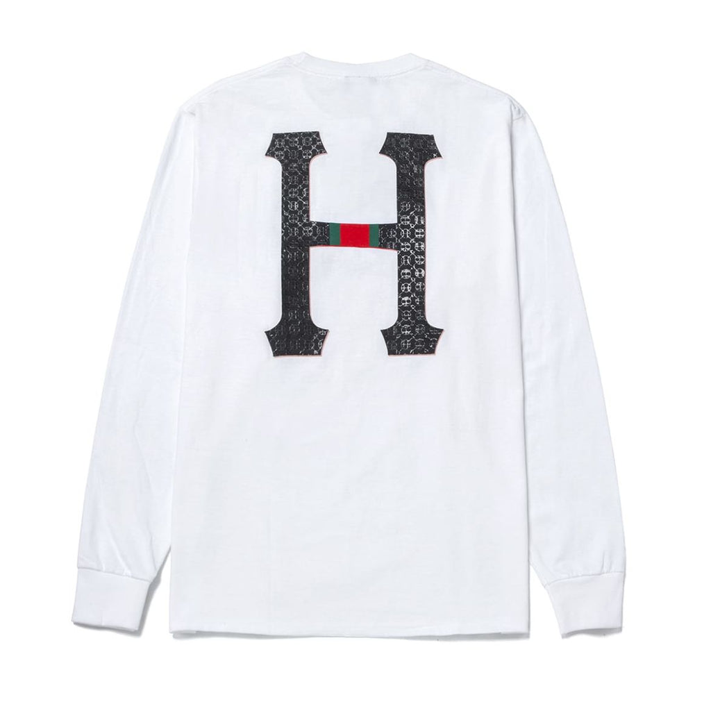 Huf Monogram Long Sleeve Tee