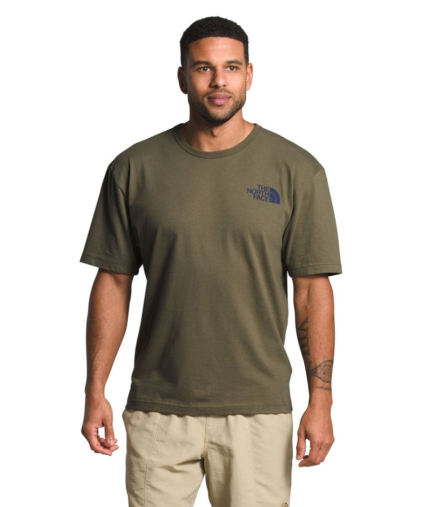 The North Face Tonal Bars Tshirt Olive - Legitkicks.ca