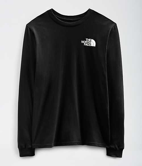 The North Face L/S Box NSE Tee Black - Legitkicks.ca