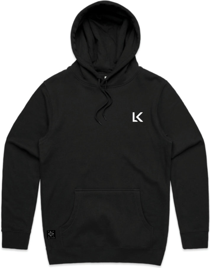 Legit Brand Made With Love Hoodie Black