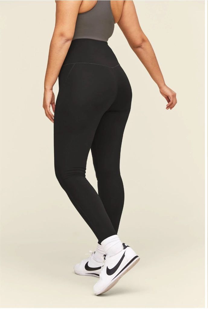 Girlfriend Collective High Rise Compressive Leggings Black - Legitkicks.ca