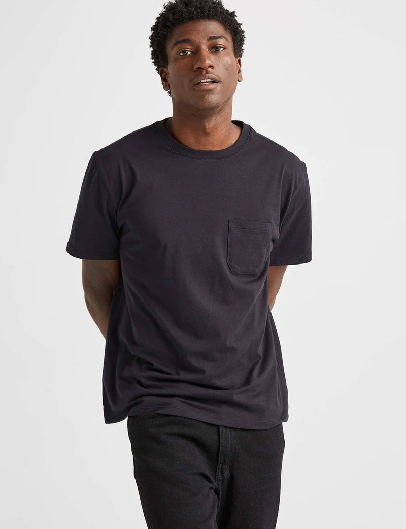 Richer Poorer S/S Pocket Tee Black - Legitkicks.ca