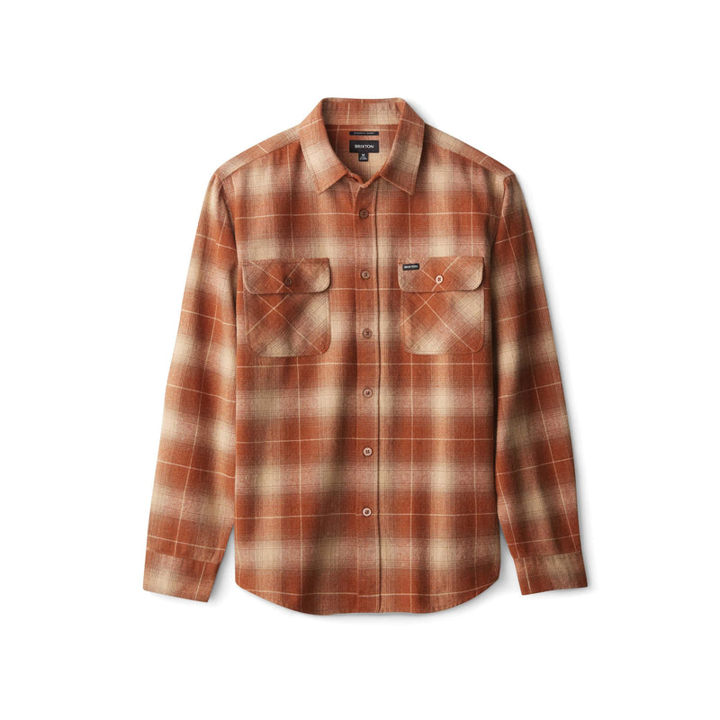 Brixton Bowery Flannel Copper - Legitkicks.ca