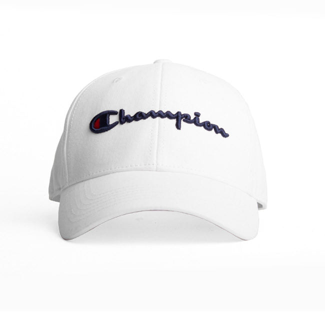 Champion Twill Hat White Strapback - Legitkicks.ca