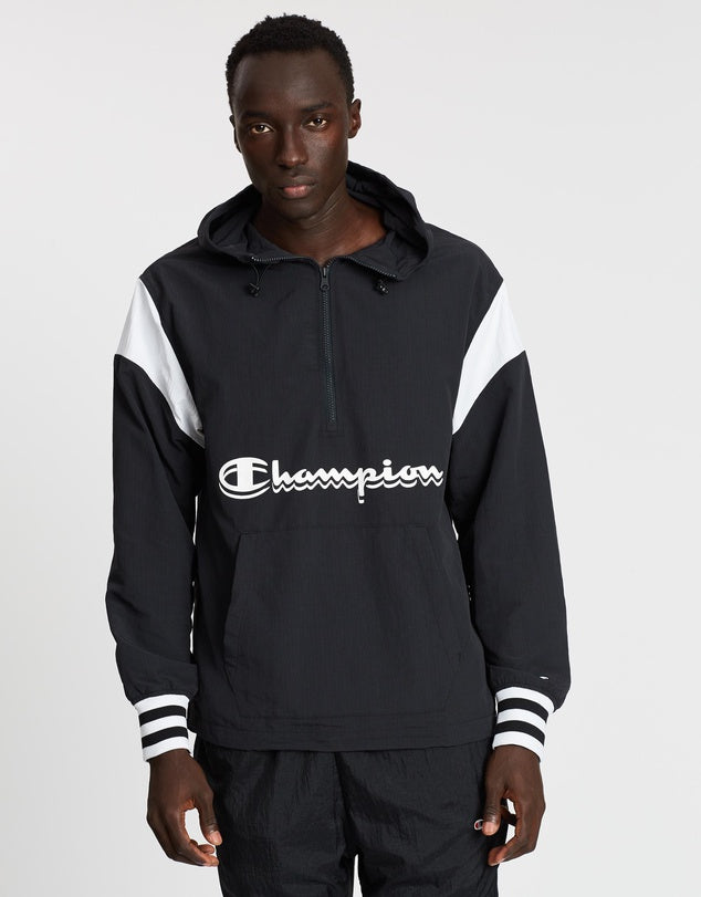 Champion Manorak Jacket Black - Legitkicks.ca