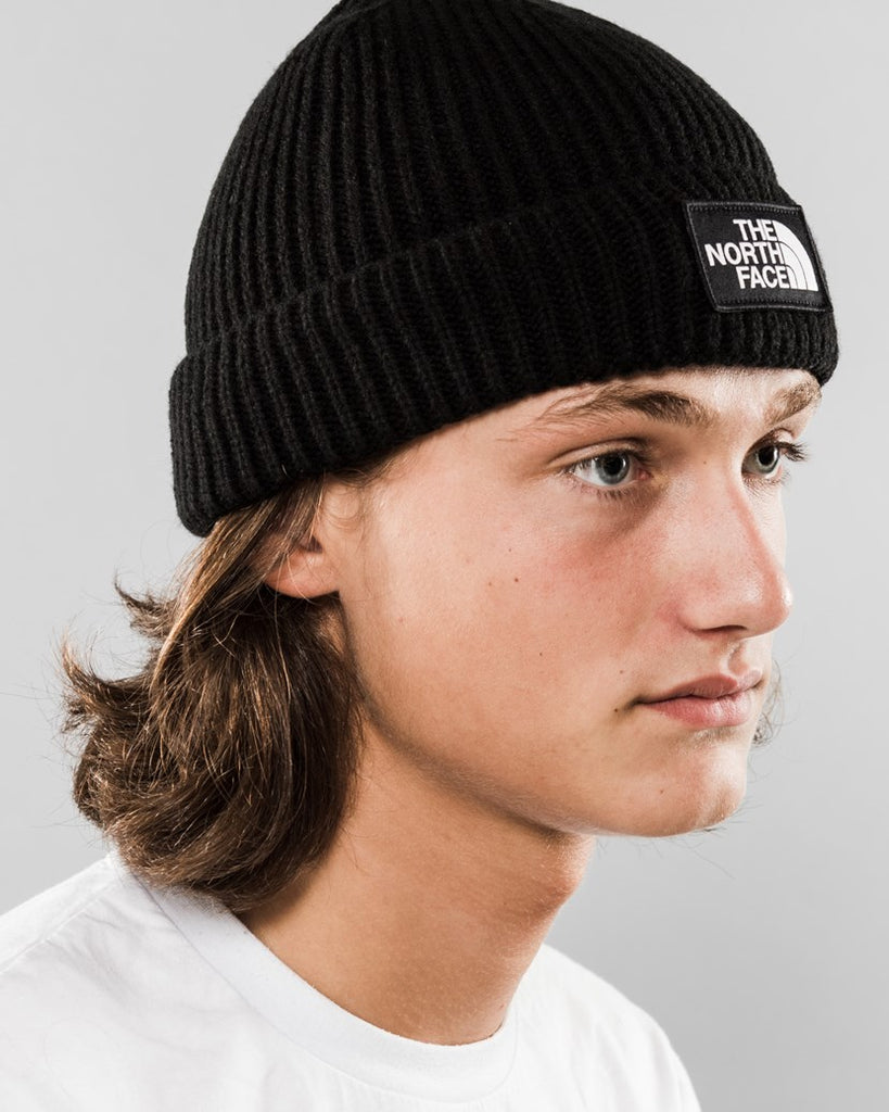 The North Face Ribbed Cuffed Beanie Black
