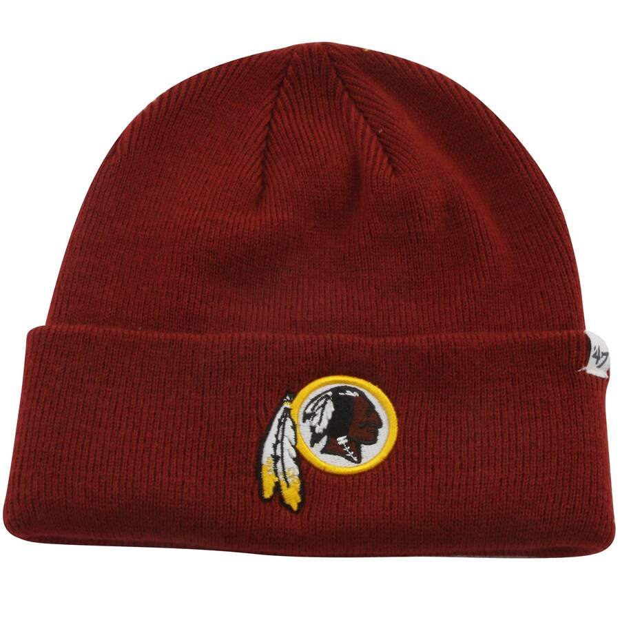 47 Brand NFL Raised Cuff Redskins Beanie