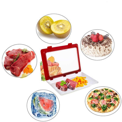 4Pcs Food Preservation Tray Culinary Techs