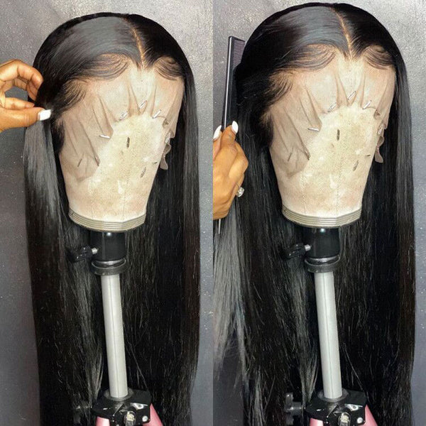 Transparent Lace Frontal Wig 30 Inch Long