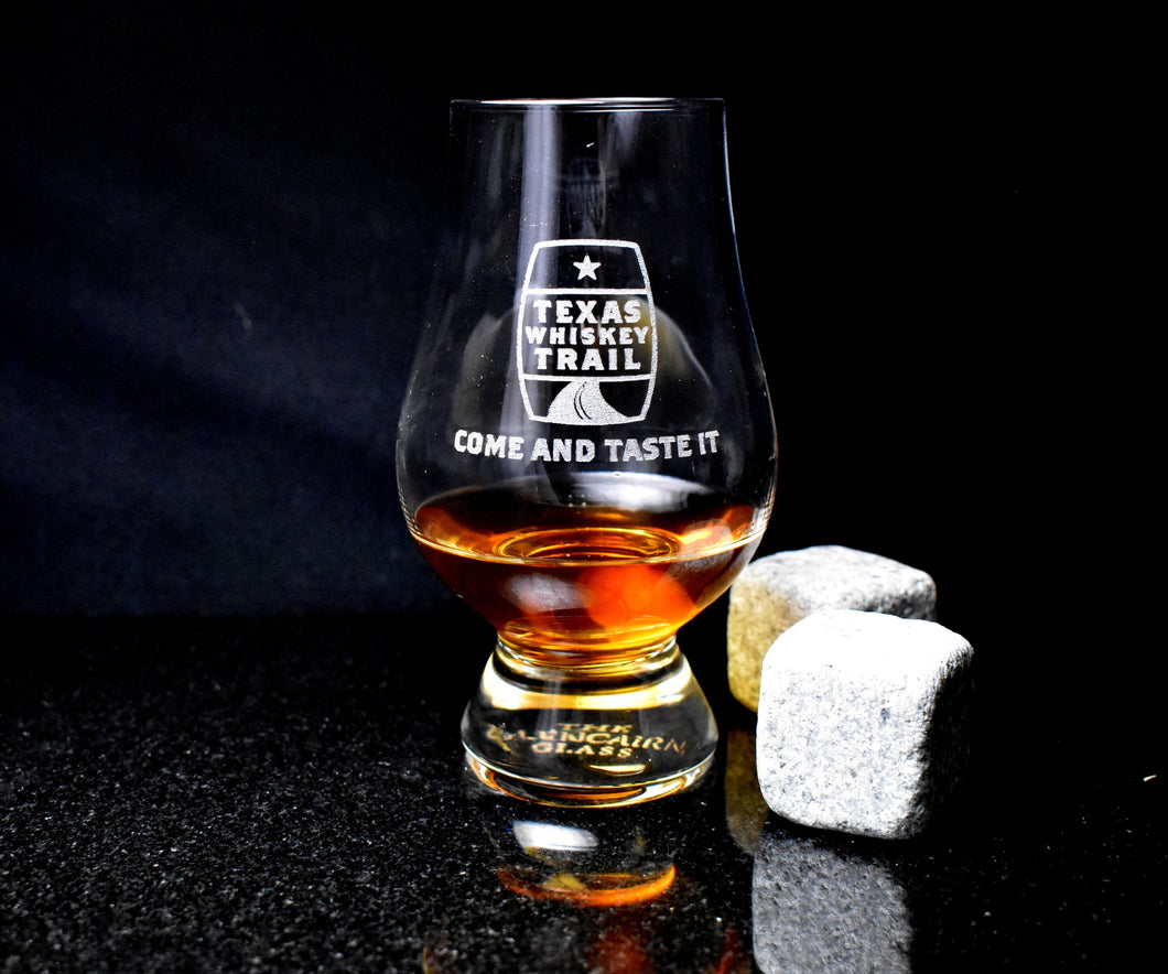 Official Texas Whiskey Trail Tasting Glass