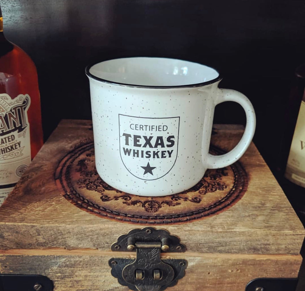Certified Texas Whiskey Campfire Mug