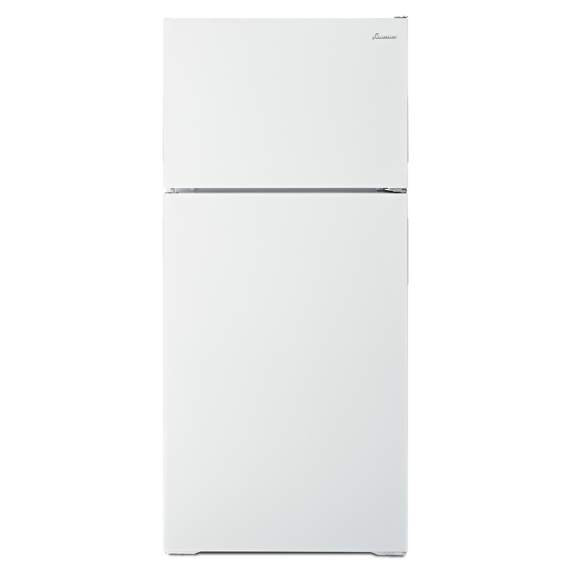 Amana® 14 cu. ft. Top-Freezer Refrigerator with Flexible Storage Options ART104TFDW